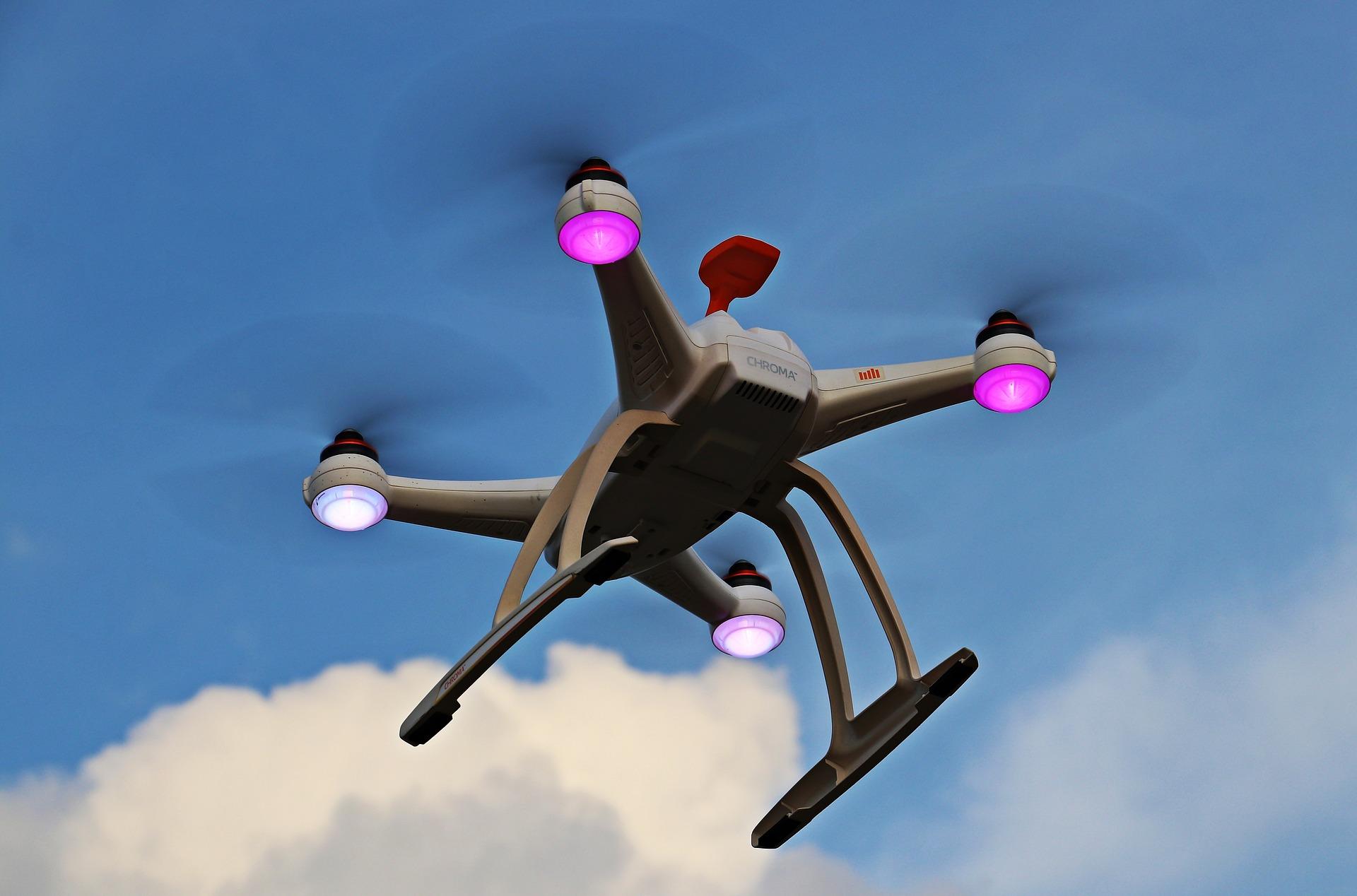 servicio de mensajería en drones