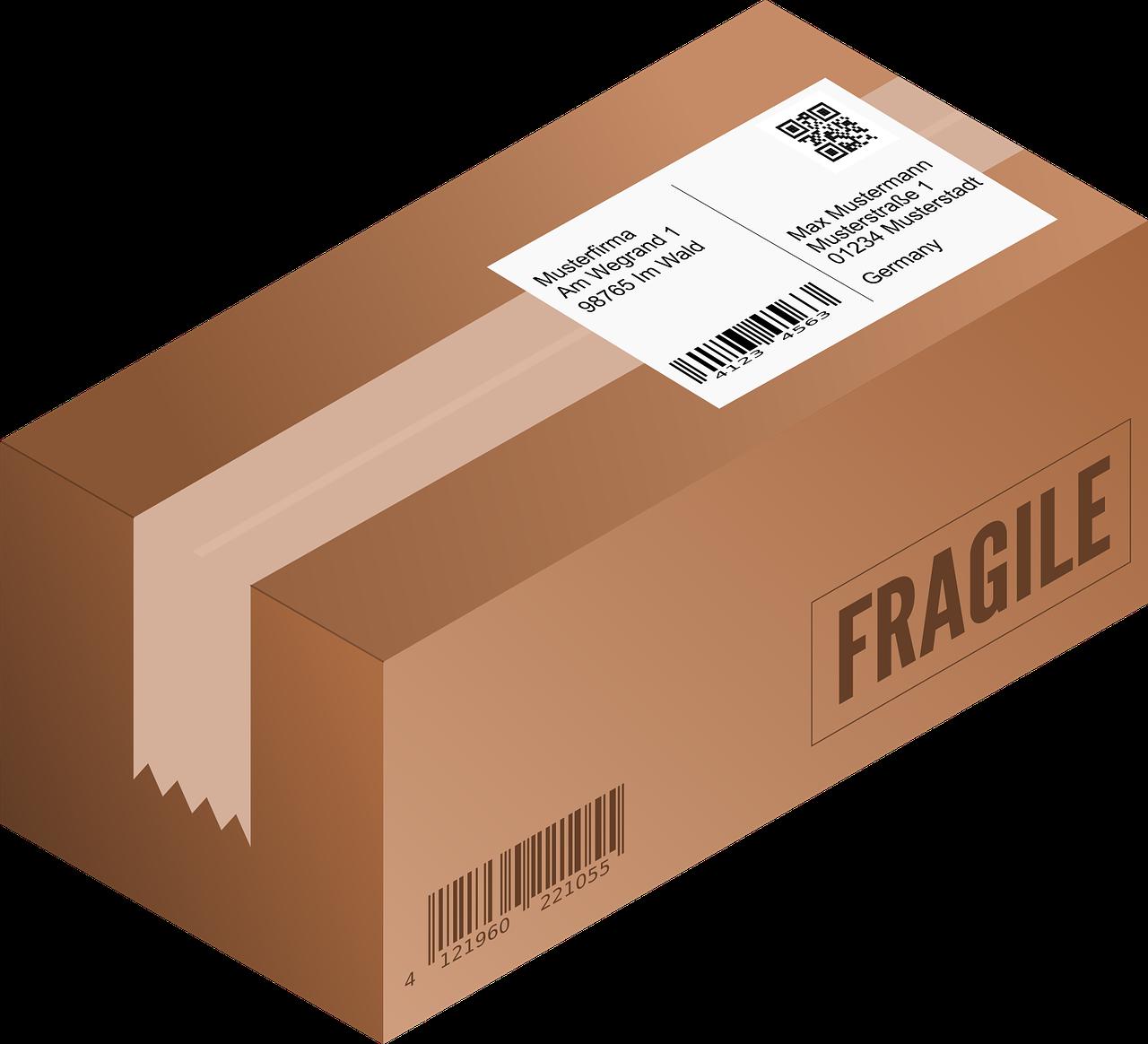 Envíos de paquetes a estudiantes Erasmus